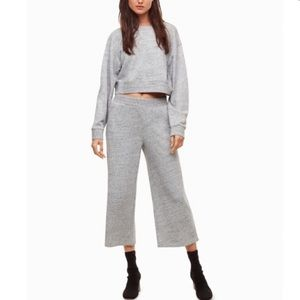 Aritzia Pants Wilfred Free Comfy Autumn Wide Leg S